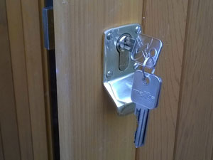 Office door security systems